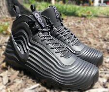 Nike Lunardome 1 ACG Sneakerboot Boots Black Grey Foamposite 654867-090 Sz 14