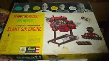 VINTAGE REVELL 1961 MOTORIZED CHRYSLER SLANT SIX ENGINE MODEL CAR MOUNTAIN KIT