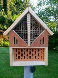 Insektenhotel Bausatz unterschied Varianten Insektenherberge 41cm Füllung einzel