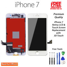 WHITE iPhone 7 Retina LCD & Digitiser Touch Screen Replacement Grade AAA UK Post
