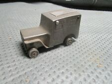 WW2 Army Jeep  Aluminum Block Trench Art Lighter Hand Made Douglas Aircraft