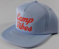 POLER Camp Vibes 70 s foamy Trucker Hat- NEW- lightweight blue snapback cap - 28 983c2cc00587