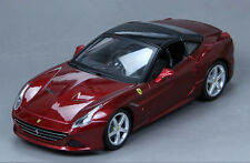 Maisto 1:24 Ferrari California T Assembly Line Metal Diecast KIT Model Car Wine