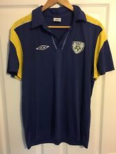 2004/2006 Republic of Ireland polo football shirt Umbro medium men's rare