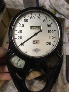 Harley Davidson Knucklehead UL ULH WL Ammeter Gauge 1935 1936 1937
