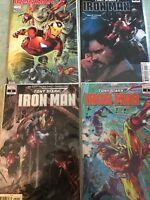 MARVEL COMICS Invincible 600~Tony Stark Iron Man 1 2 3 4 FIRST PRINTS