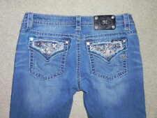 "Miss Me Jeans ~Signature Boot~ Sz 31 x 33"" Medium Distressed Wash"