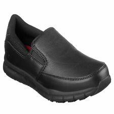 Skechers Women's 77236 Nampa Annod Slip Resistant Slip On Work Shoes