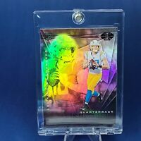 Justin Herbert ROOKIE CHARGERS SILVER REFRACTOR CARD - INVESTMENT