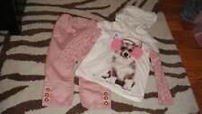 BABY GAP 2T 2 YRS FALL HOL '11 PINK PANTS PUPPY DOG SHIRT LOT