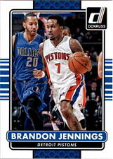 2014-14 DONRUSS BASKETBALL BRANDON JENNINGS - DETROIT PISTONS - CARD #40
