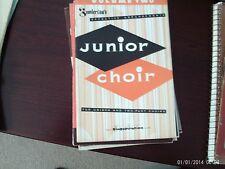 Junior Choir, Vol. 2, unison and 2-part choral (Singspiration)