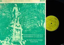 Mozart Divertimentos Colin Davis Eco Lp Vinilo 1961 UK l'oiseau - Lira OL50198 @ ex @