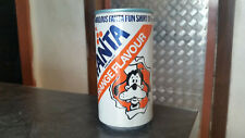 vintage fanta made by coca cola soft drink can with disney goofey