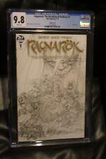 Ragnarok The Breaking of Helheim #1 1:10 Simonson Variant Sketch Cover CGC 9.8