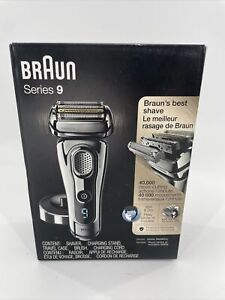 Braun Mens 9330S Series 9 Cordless Rechargeable Electric Razor Shaver Kit READ