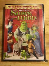 Shrek the Third (Dvd, 2007, Widescreen Version) New