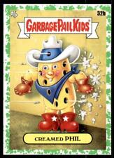 2021 Garbage Pail Kids Food Fight Base Booger Green #32b CREAMED PHIL