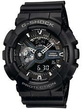 Casio G-Shock Men'S Watch Black Digital Analogue Resin Strap Model GA-110-1BER
