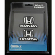 Original Honda USA Logo Chrom Domed Emblem Aufkleber Decal Sticker 2 Stück NEU