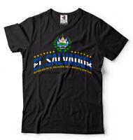 El Salvador T-shirt Salvadoran Heritage national Day Mens Unisex Tee Shirt Tee