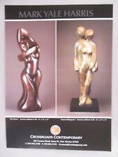 Mark Yale Harris Art Gallery Exhibit PRINT AD - 2006