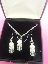 neckalace set Handmade earring and