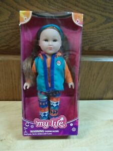 """MY LIFE 8"""" DRESSED DOLL _ NEW IN BOX"""
