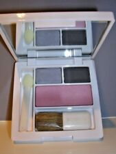 Clinique Jeans & Heels Eyeshadow CX Grey Matters + Iced Lotus Blush NWOB