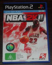 Sony PS2. NBA 2K11. Playstation 2. (PAL AUS/EUR)