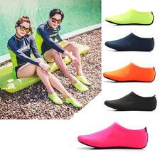 Men Women Water Skin Shoes Aqua Socks Yoga Exercise Beach Pool Swim Slip On Surf