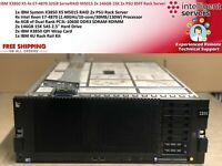 IBM X3850 X5 4x E7-4870 32GB ServeRAID M5015 2x 146GB 15K 2x PSU 4U Rack Server