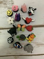 Jibbitz Authentic Crocs Shoe/Wristband Charms - Mixed Pack Of 15