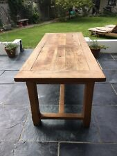 French Oak Farmhouse Refectory Dining Kitchen Table