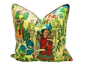 Frida Kahlo Cotton Cushion Cover 50CM Bed Home Decorative Throw Pillow Case Boho
