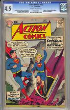 Action Comics #252 Nice 1st App. Supergirl Movie Key DC Superman 1959 CGC 4.5