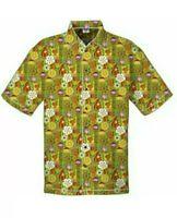 SHAG HARVEYS Disney parks Trader Sam's Tiki Bar camp shirt Large