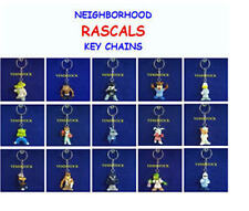 2 NEW ANIMAL NEIGHBORHOOD RASCALS KEY CHAINS BACKPACK ZIPPER PULLS YOU PICK