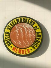 United Steelworkers of America Member Pin 1990s-2000s