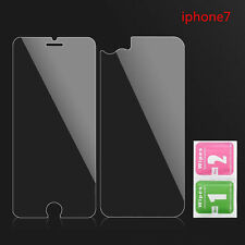 9H Front Back Tempered Glass Film Screen Protectors Cover For Apple iPhone 7 New