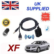 For Jaguar XF Bluetooth Music Streaming Module includes power adapter USB & AUX