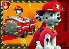 PAW PATROL  marshall  A4 POSTER WALL ART