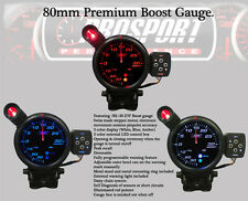 80mm BOOST GAUGE-Amber/White/Blue Peak/Warning Prosport