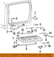 GM OEM Back Door-Window Actuator 15676009