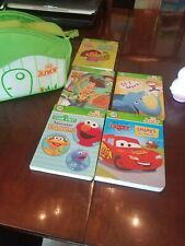 LEAP FROG LOT TAG Junior Reader 5 Books Storage Carrying Bagdevice doesn't work