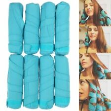8Pcs Magic Long Hair Curlers No Heat Curl Formers Leverage Rollers Spiral Tools