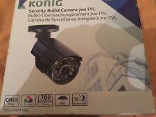 Konig Sas-cam1100 Bullet Colour Security Camera 700 TVL New Boxed Uk