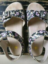 leather DR MARTENS FLORAL flower womens SANDALS uk 5 us 7 eur 38 light wear