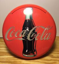 VTG Coca Cola Coke Telephone 1995 Red Round Stand or Wall Hanger