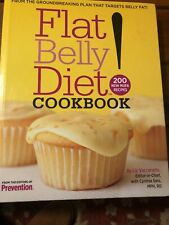 Flat Belly Diet! Cookbook by Liz Vaccariello and Cynthia Sass (2008, Hardcover)